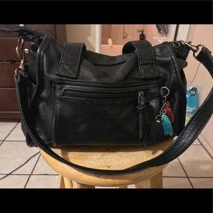 Black Vans satchel handbag